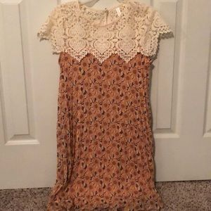 Lace and Sheer Sundress